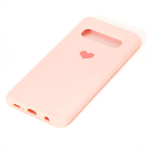 Pink Heart Phone Case - Fits Samsung Galaxy S10,