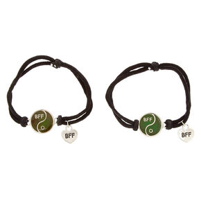 Mood Yin Yang Stretch Friendship Bracelets,