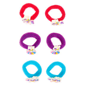 Claire's Club Unicorn Hair Bobbles - 6 Pack,
