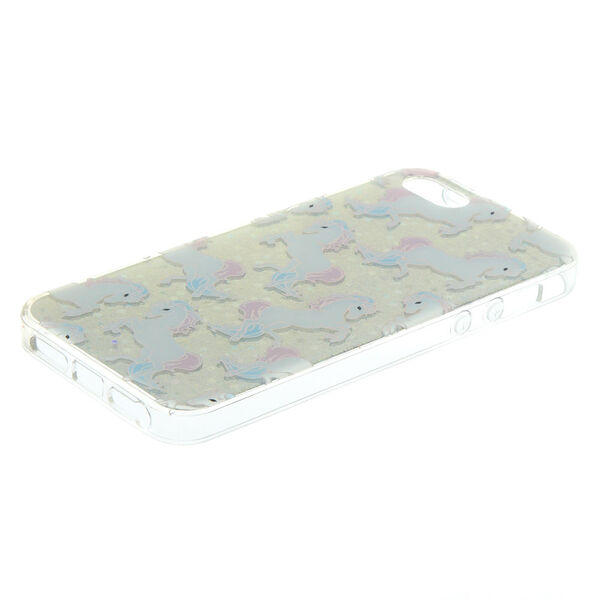 Claire's - holographicunicorns phone case - 2
