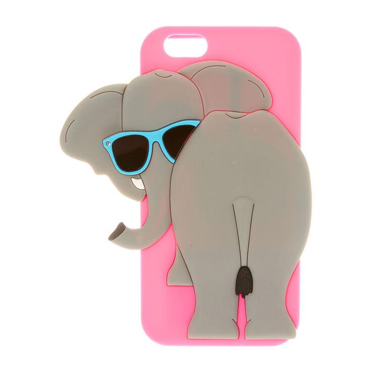 Pink Elephant Trumpet Sound Phone Case