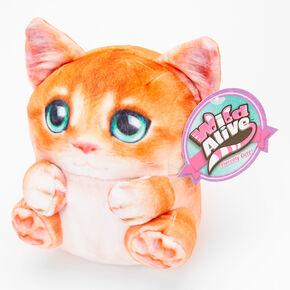Wild Alive™ Hannah the Cat Plush Toy - Orange,