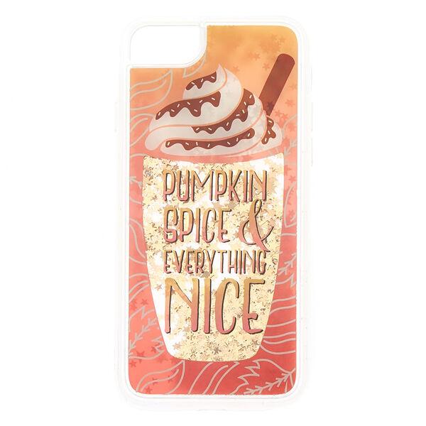 Claire's - pumpkin spice phone case - 1