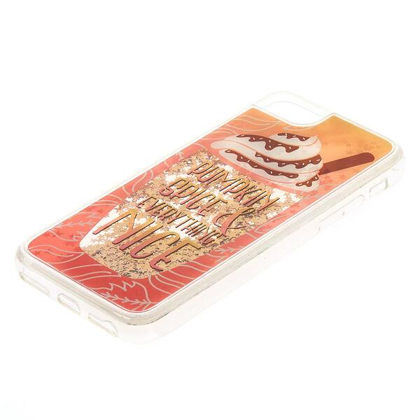 Claire's - pumpkin spice phone case - 2