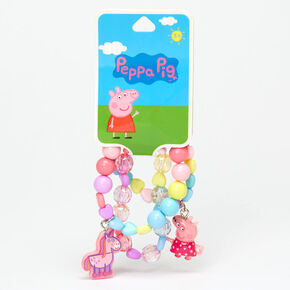 Peppa Pig™ Beaded Stretch Bracelets – 3 Pack,