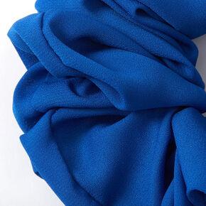 Giant Hair Scrunchie - Neon Blue,