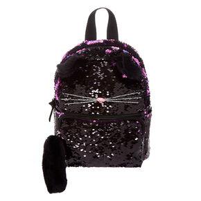 aee5e586af9c Reversible Sequin Cat Mini Backpack