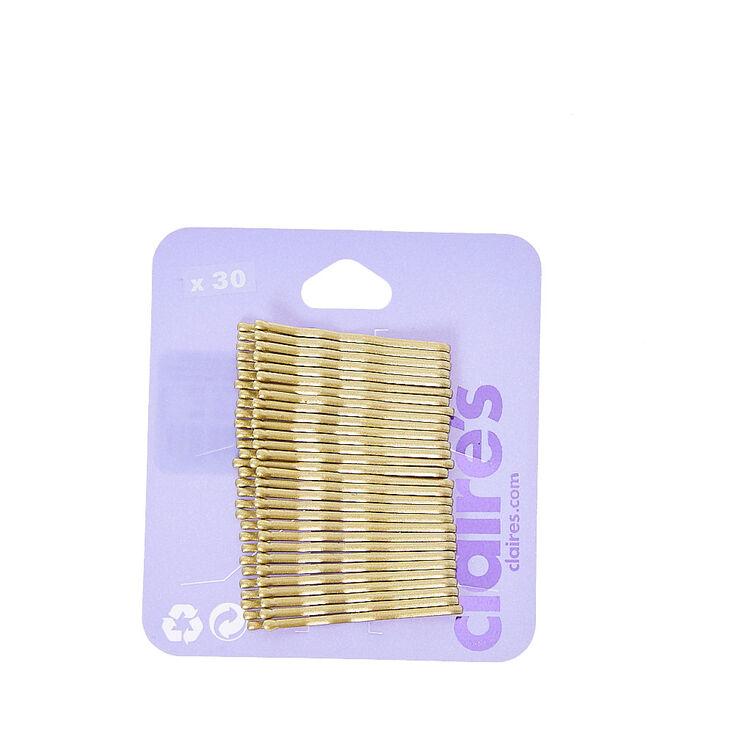 Medium Blonde Bobby Pins,