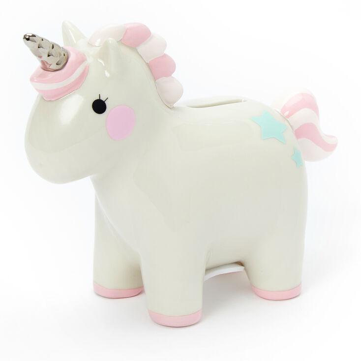 Claire's Club Unicorn Piggy Bank,