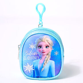 ©Disney Frozen 2 Elsa Mini Backpack Keyring Clip - Blue,