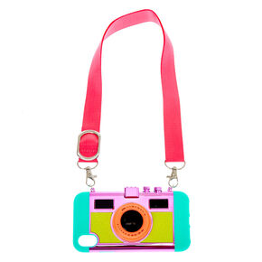 Camera Phone Case With Lanyard - Fits iPhone XR,