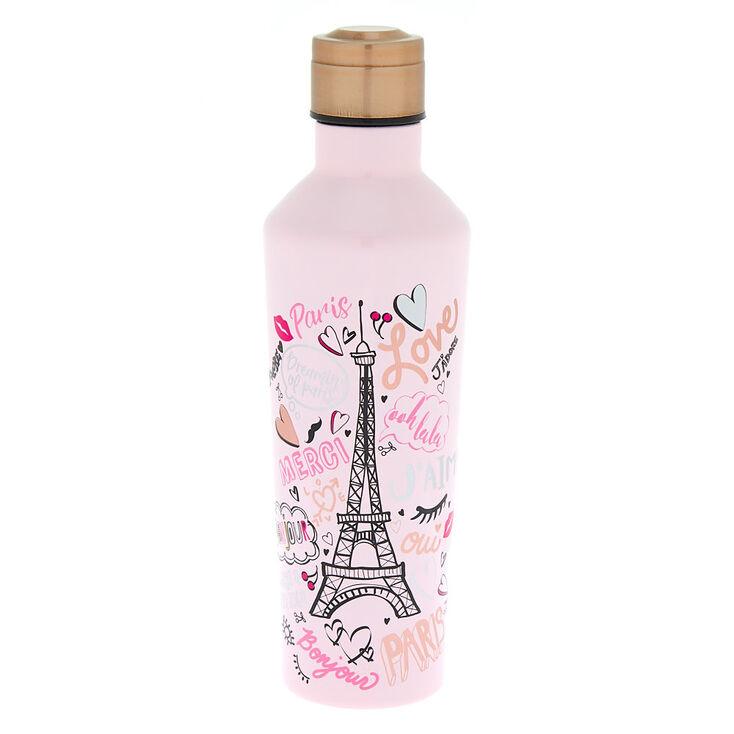 Paris Water Bottle - Pink,
