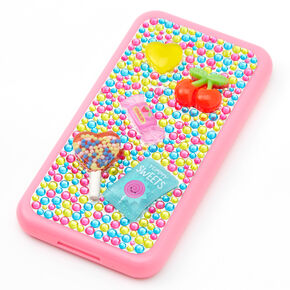 Sweet Treat Cell Phone Bling Makeup Set - Pink,