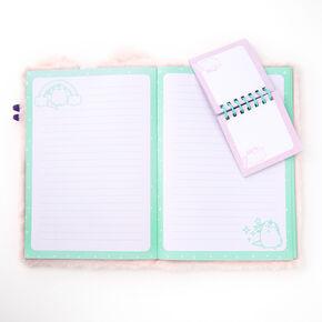 Pusheen® Furry Plush Diary,
