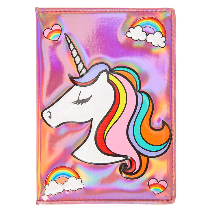 Holographic Unicorn Notebook Claire S Us
