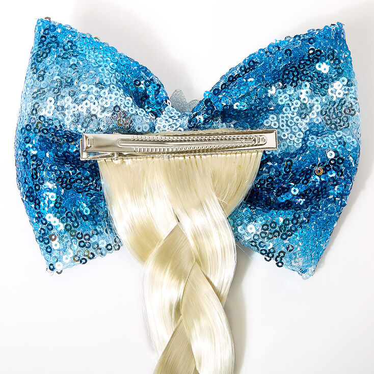 ©Disney Frozen 2 Elsa Fake Braid & Sequin Bow Hair,
