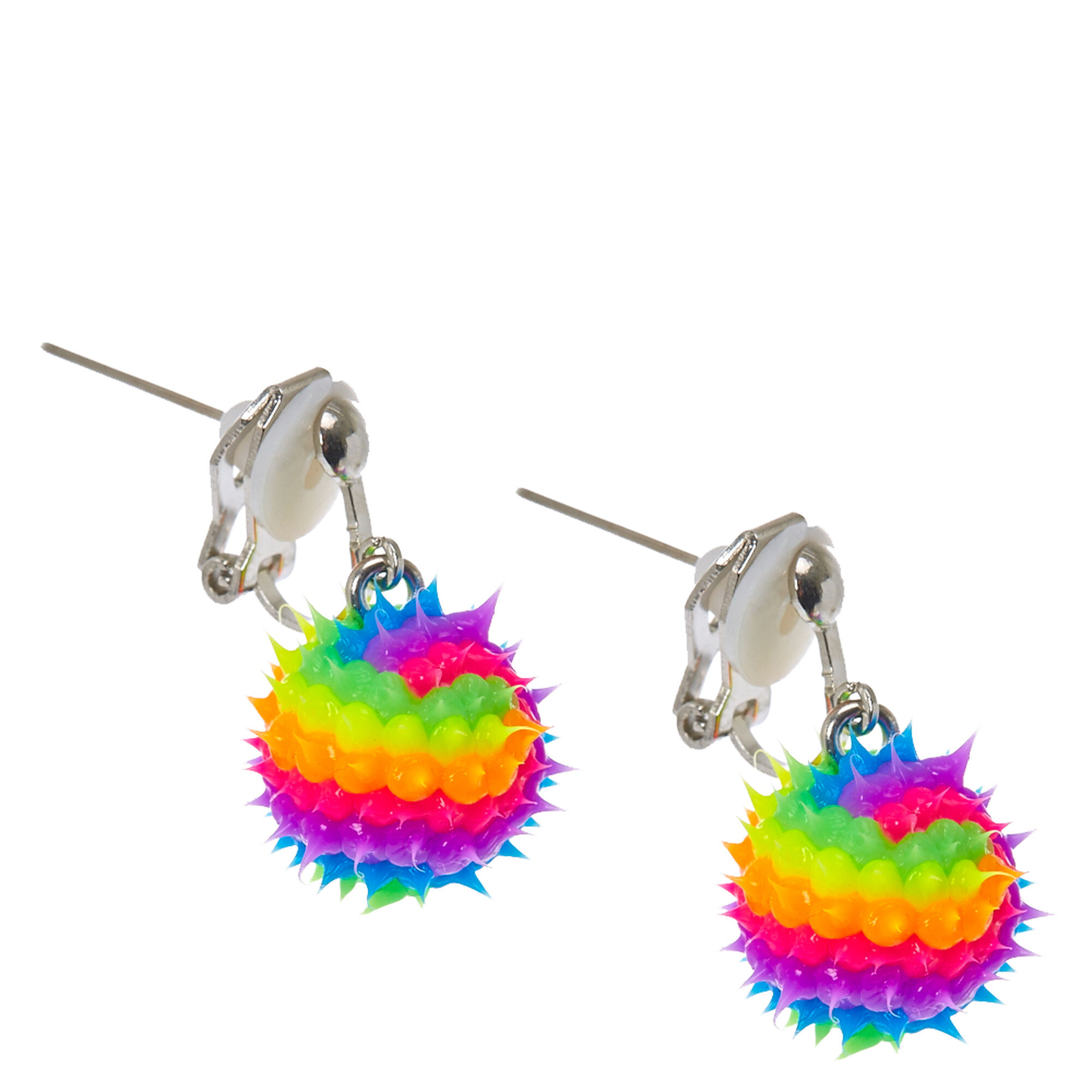 stud claire daisy pastel earrings magnetic us crystal rainbow s
