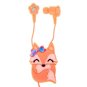 Fox Earbuds & Winder - Coral,