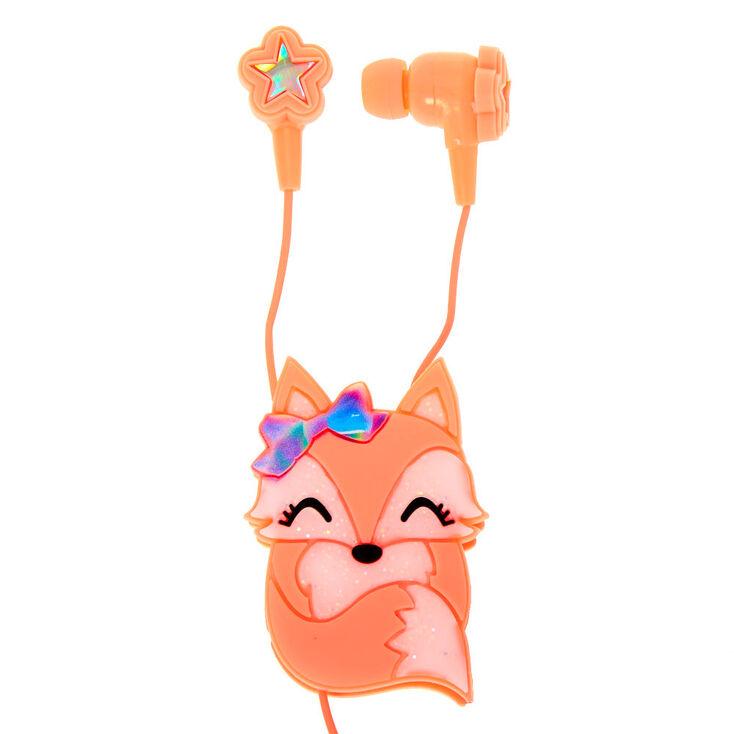 Fox Earbuds & Winder - Coral,