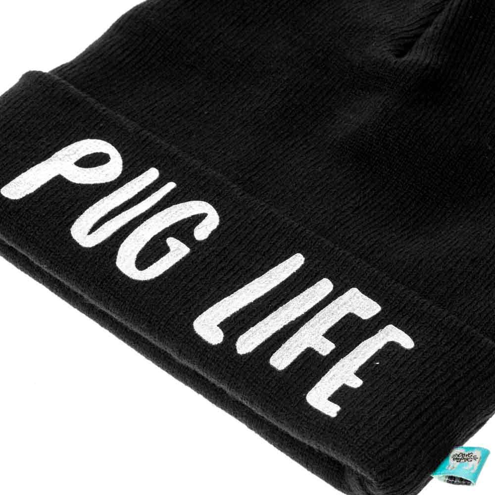 ... Doug The Pug reg  Pug Life Beanie- ... 604d80dc25b