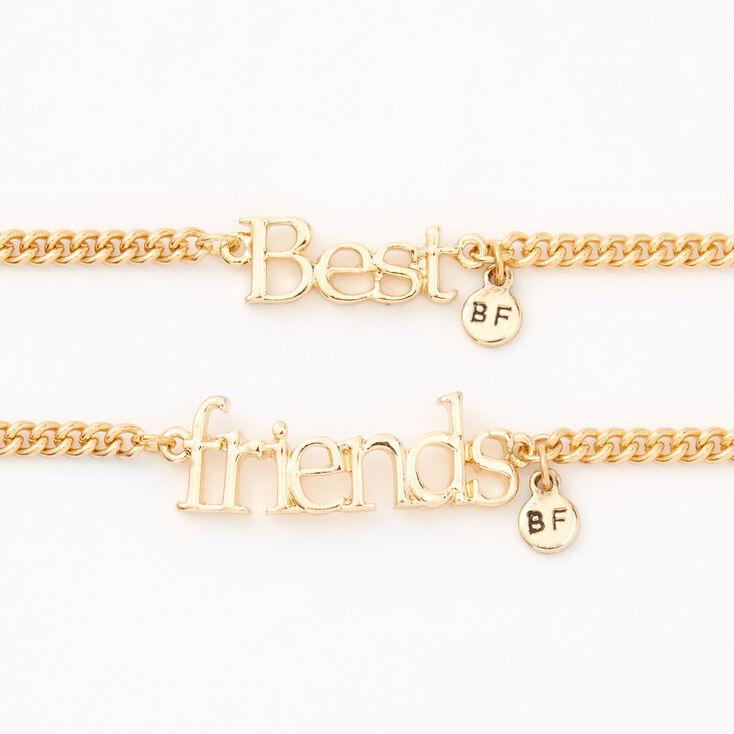 Gold Chain Friendship Bracelets - 2 Pack,