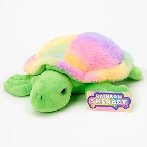 Rainbow Sherbet Sea Turtle Plush Toy,