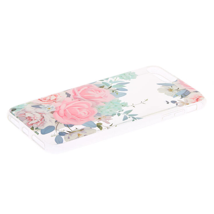 Glitter Rose Phone Case - Fits iPhone 6/7/8 Plus,