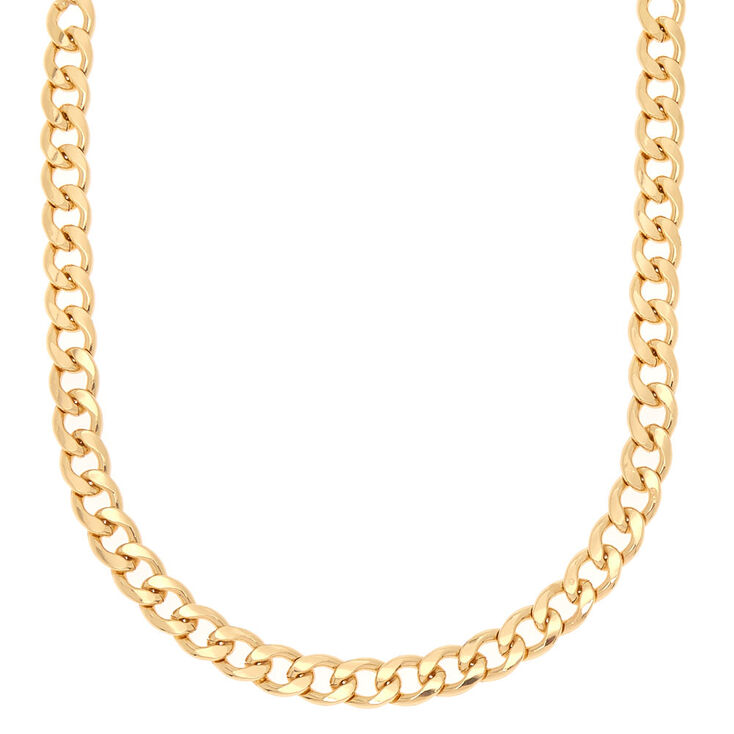 bc27563bec1 Gold Chain Statement Necklace | Claire's US