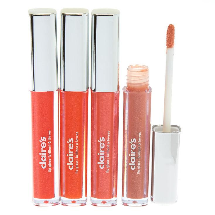 Nudes Lip Gloss Set - 4 Pack,