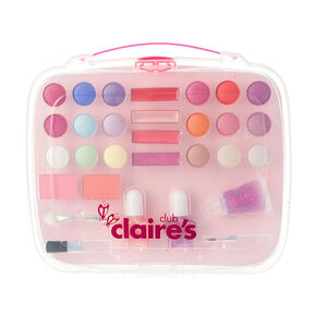 Claire's Club Lunchbox Makeup Set - Pink,