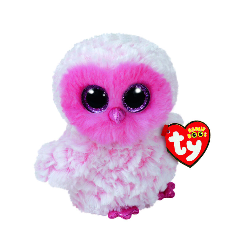 Ty Beanie Boo Small Twiggy The Owl Plush Toy Claire S Us