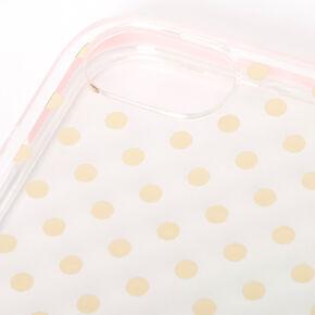 Floral Polka Dot Protective Phone Case - Fits iPhone 6/7/8/SE,