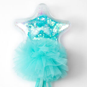 Claire's Club Shakey Star Wand - Mint,