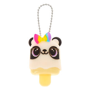 Pucker Pops Rainbow Panda Bow Lip Gloss - Grape,