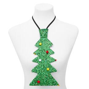 Glittery Christmas Tree Necktie,