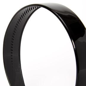 Solid Wide Headband - Black,