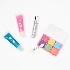Palette compacte de maquillage bling bling Get Happy - Rose,