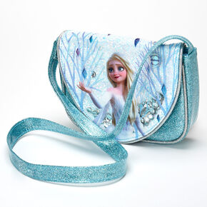 ©Disney Frozen 2 Glittery Elsa Crossbody Bag – Blue,