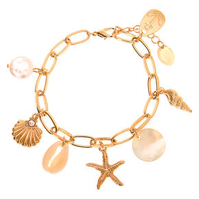 Go to Product: Gold Sea Style Charm Bracelet from Claires