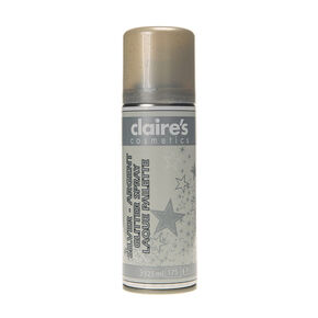 Silver Glitter Hair Spray,