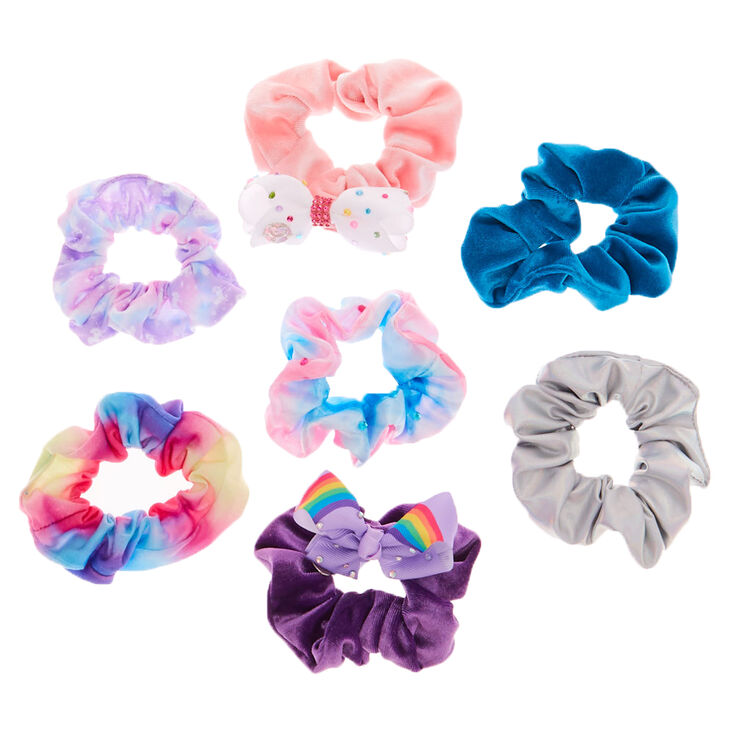 JoJo Siwa Hair Scrunchies - 7 Pack,