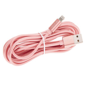 USB 3M Charging Cord - Rose Gold,