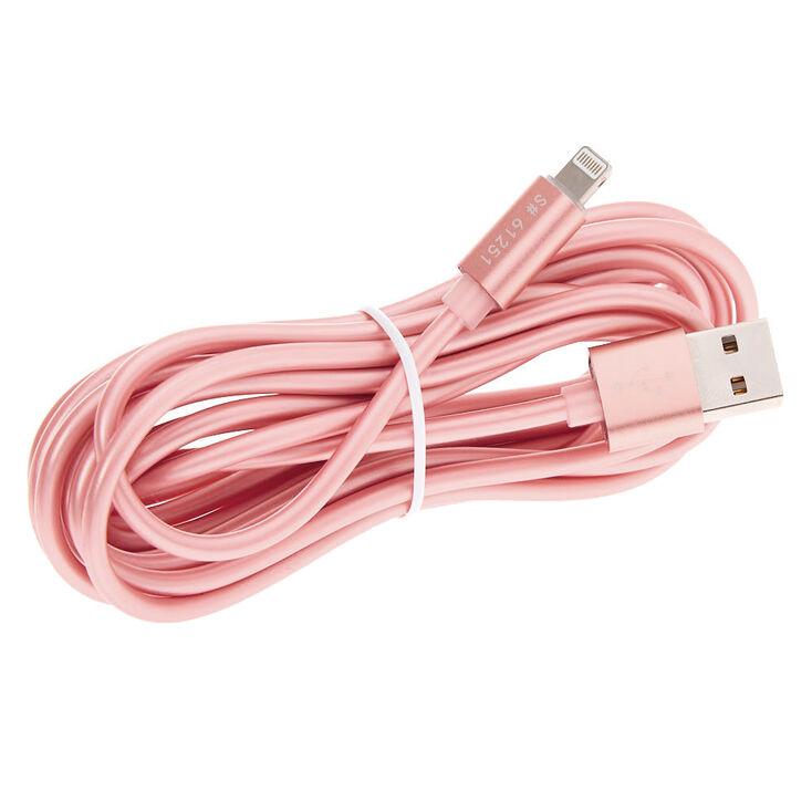 USB 3M Charging Cord - Rose Gold,