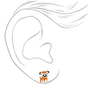 Dog Mix Stud Earrings - 9 Pack,