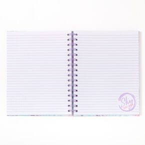 Sky Brown™ Tie Dye Notebook - Purple,
