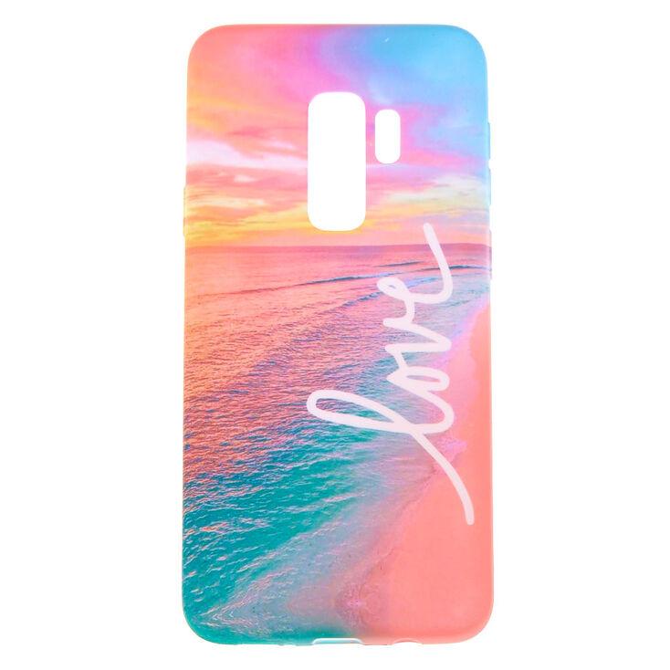 Love Beach Phone Case - Fits Samsung Galaxy S9 Plus,