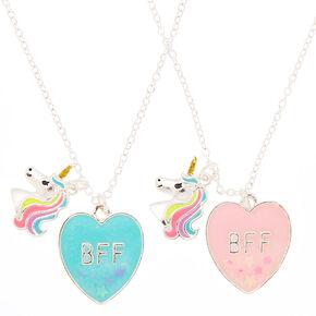 754e8984d8 Best Friends Miss Glitter the Unicorn Pendant Necklaces - 2 Pack