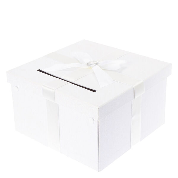 Claire\'s White Wedding Card Box - Claire\'s at £20 | love the brands