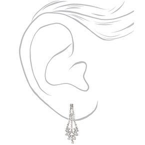Silver Rhinestone Peacock Jewellery Set - 2 Pack,