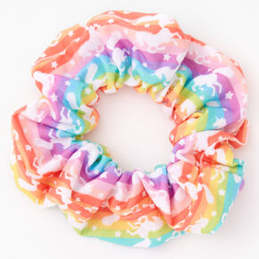 Rainbow Unicorn Hair Scrunchie,